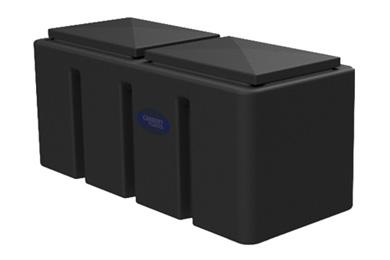 Enclosed Plastic Cold Water Storage Loft Tank - type 44E