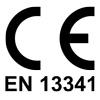 CE EN-13341 logo