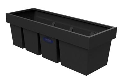 Slimline Plastic Cold Water Storage Loft Tank - type 60R