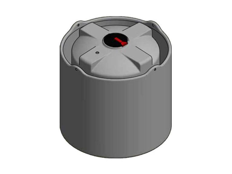 4000 Litre Open Bund Chemical Tank