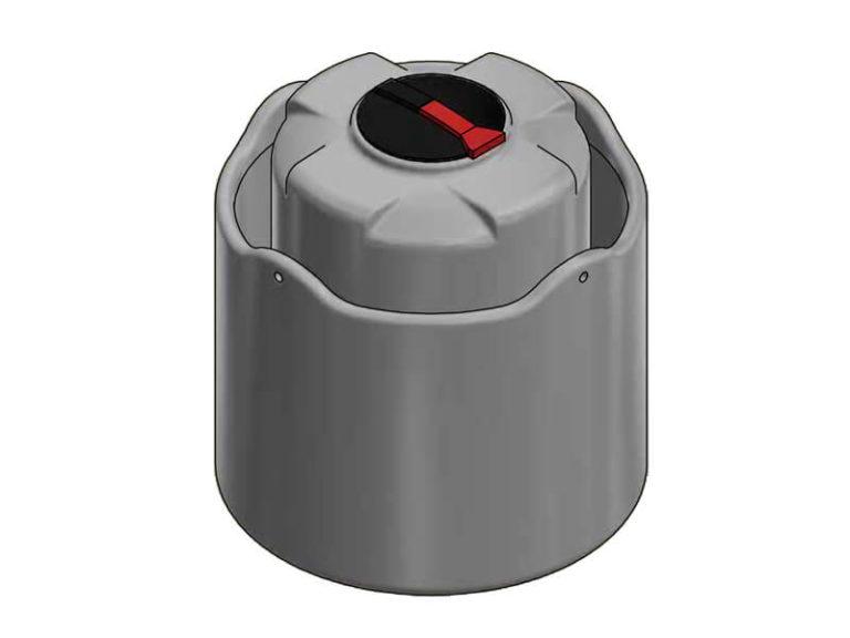 850 Litre Open Bund Chemical Tank