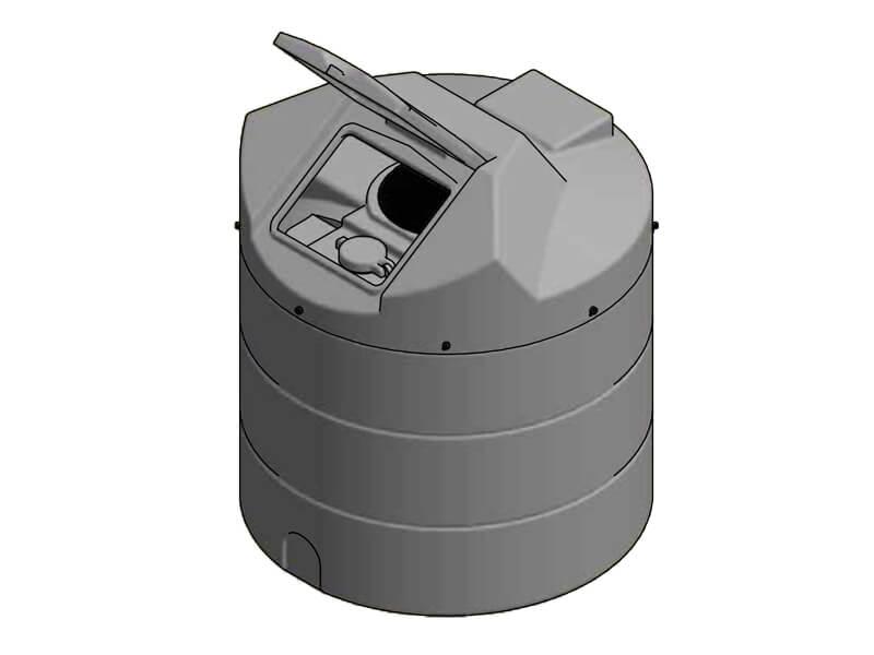 1350 Litre Enclosed Bund Chemical Tank