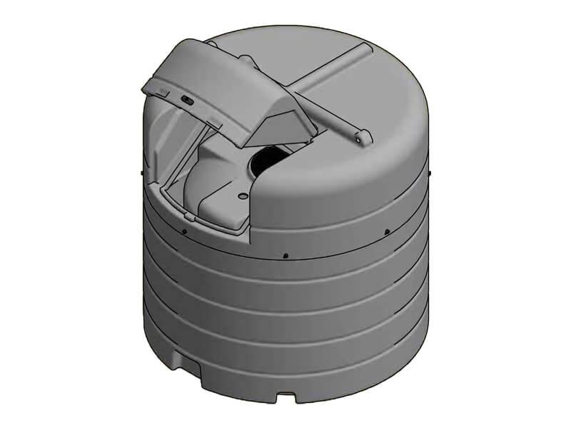 1500 Litre Enclosed Bund Chemical Tank