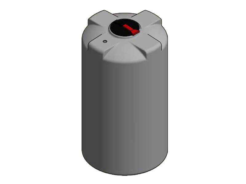 3000L Single Skin Chemical Tank