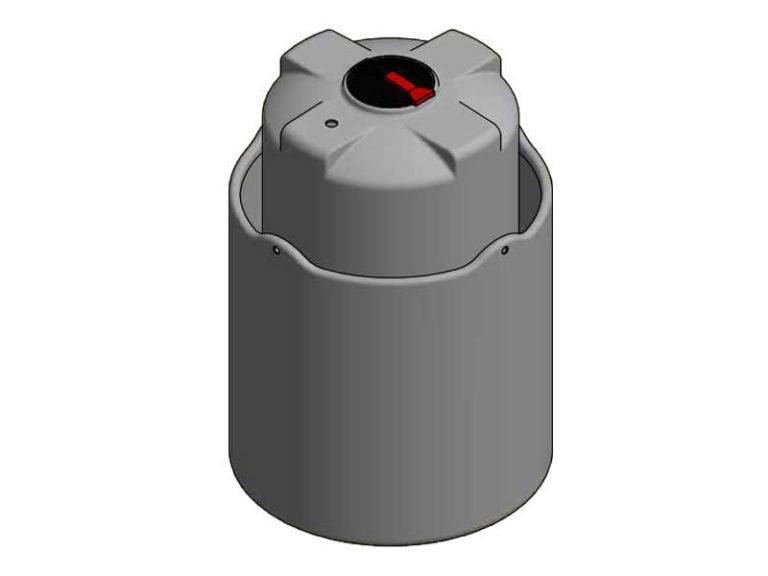 3000 Litre Open Bund Chemical Tank