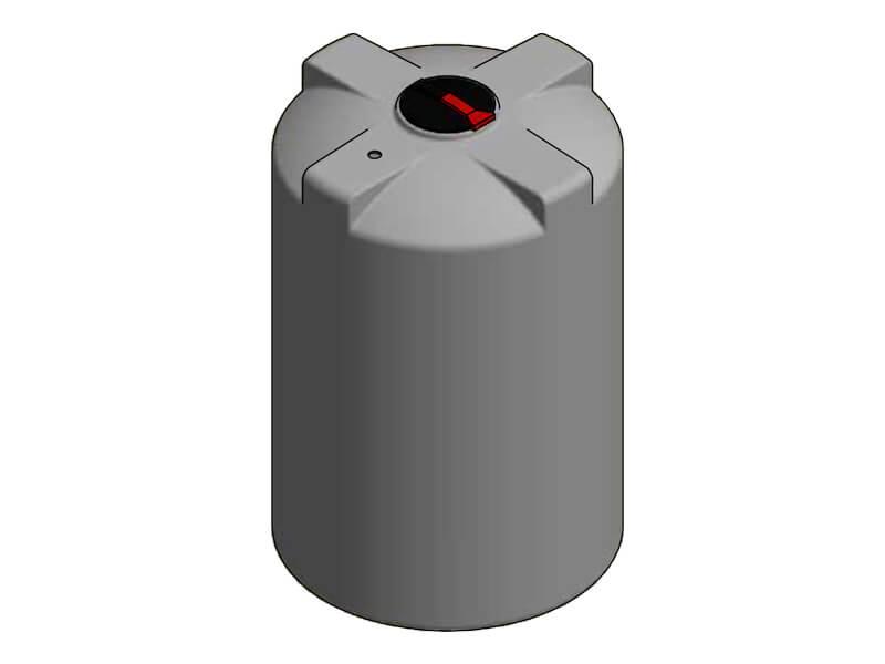 5000L Single Skin Chemical Tank