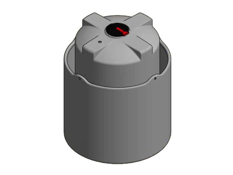 5000 Litre Open Bund Chemical Tank