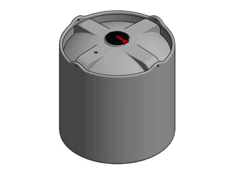 7000 Litre Open Bund Chemical Tank