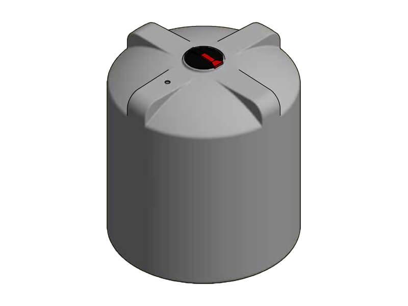 9000L Single Skin Chemical Tank